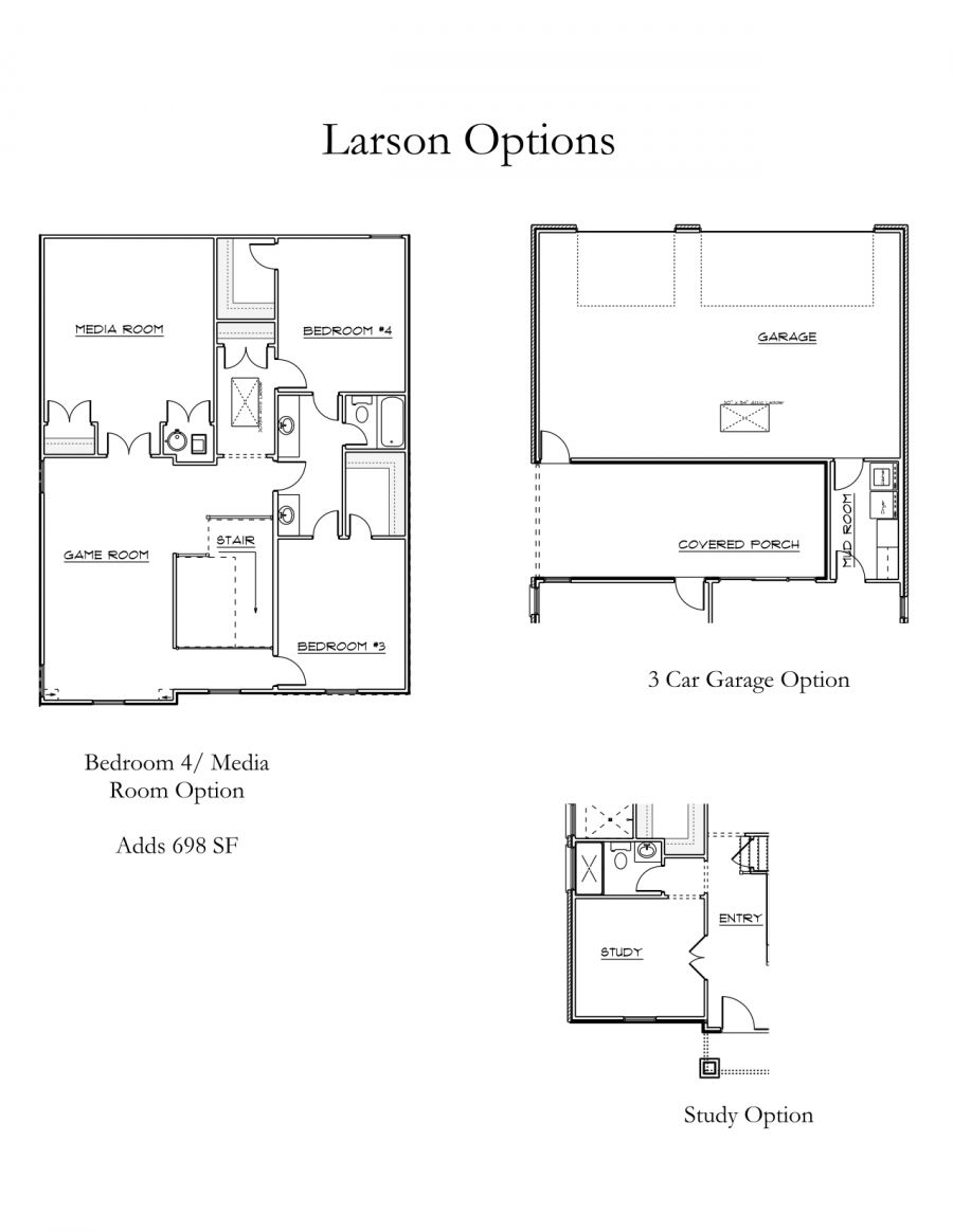 Larson Floorplan Options