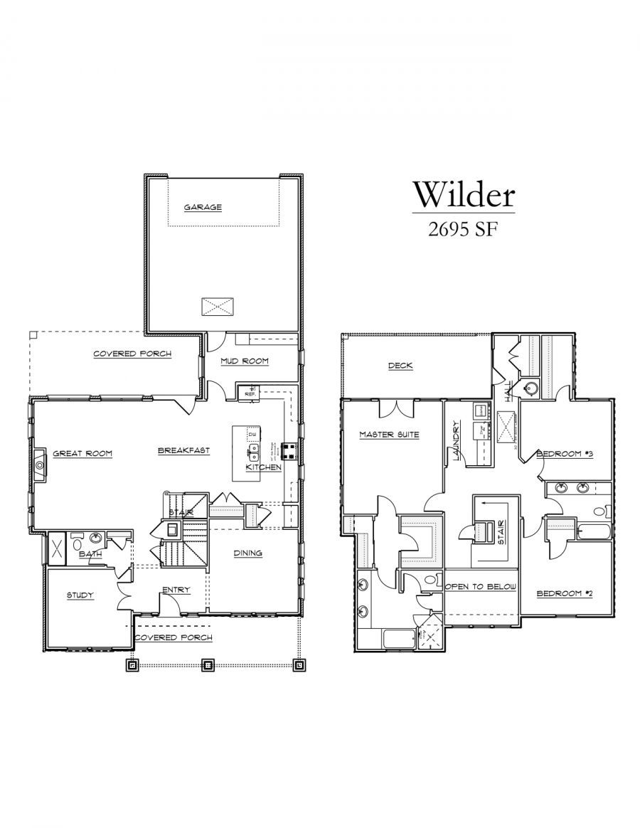 Wilder Floorplan