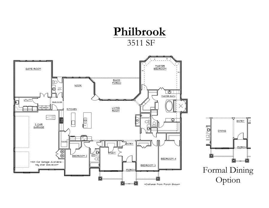 Philbrook Floor Plan