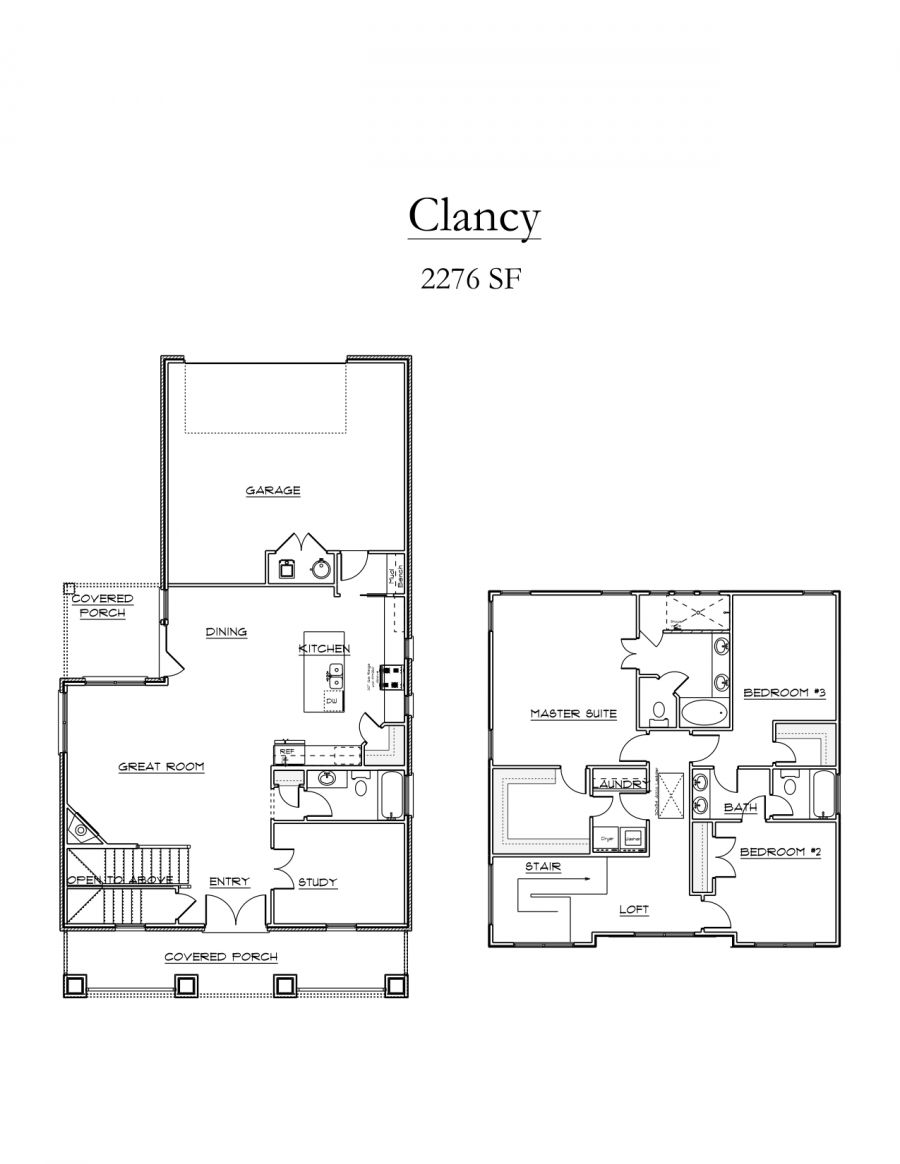 Clancy Floor Plan