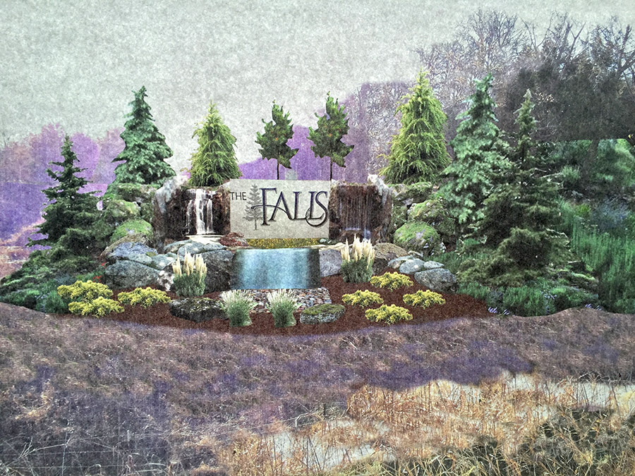 The Falls Community, by McCaleb Homes