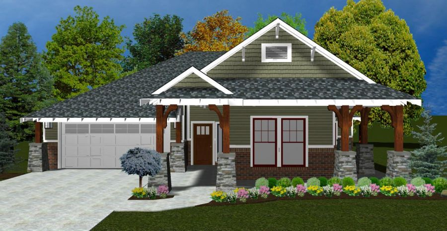 Alcott Collection Plan by McCaleb Homes