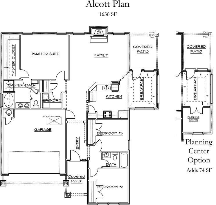 Alcott Floor Plan
