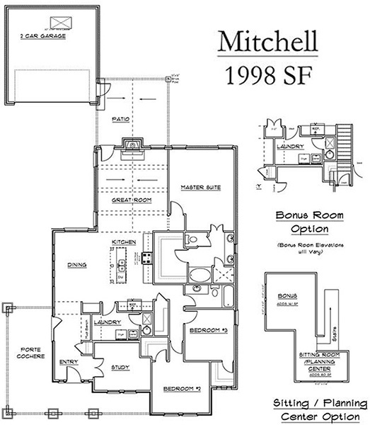 Mitchell Floor Plan