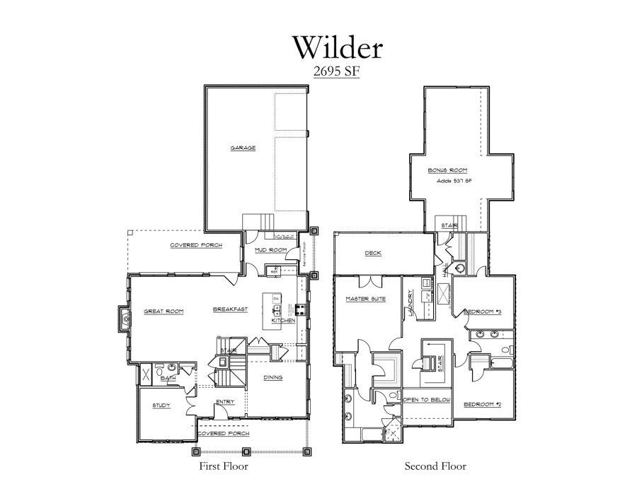 Wilder Floor Plan