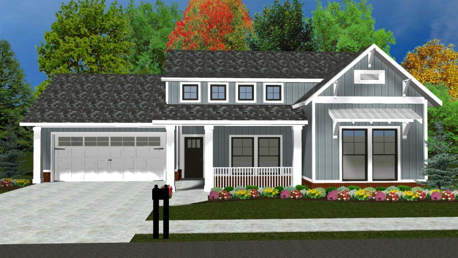 Fitzgerald Collection Plan by McCaleb Homes