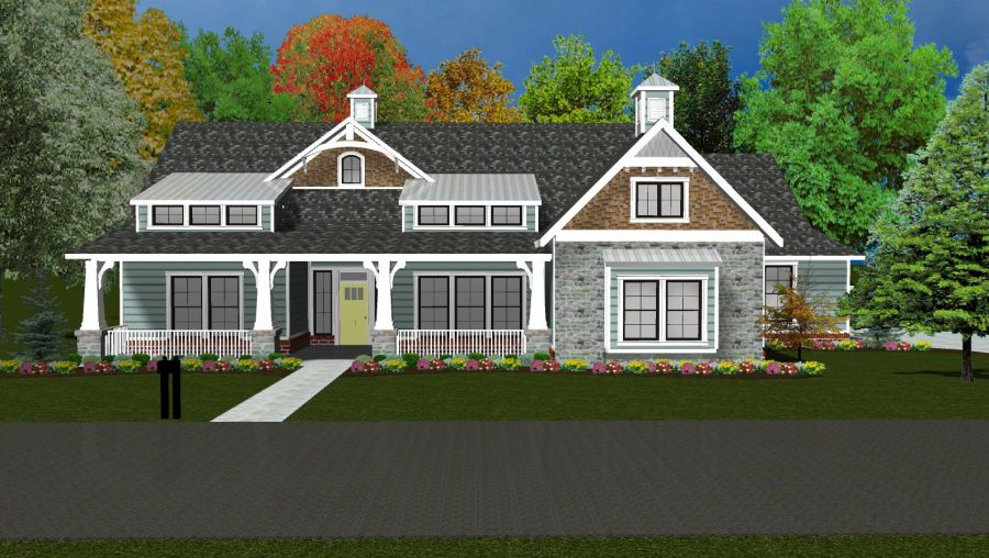 Monticello Collection Plan by McCaleb Homes