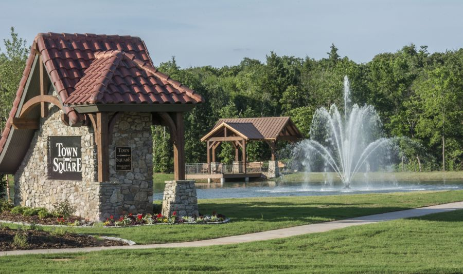 Town Square Community, by McCaleb Homes