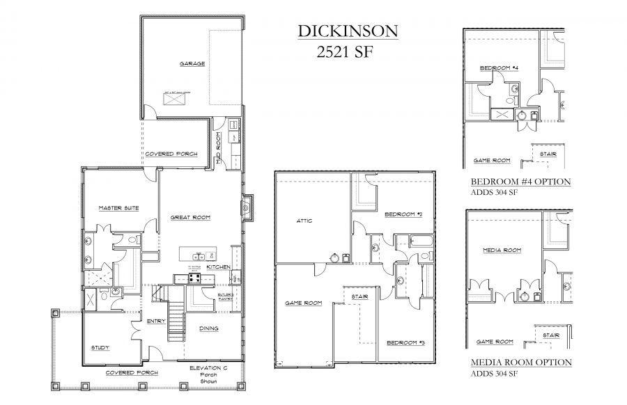 Dickinson Floor Plan