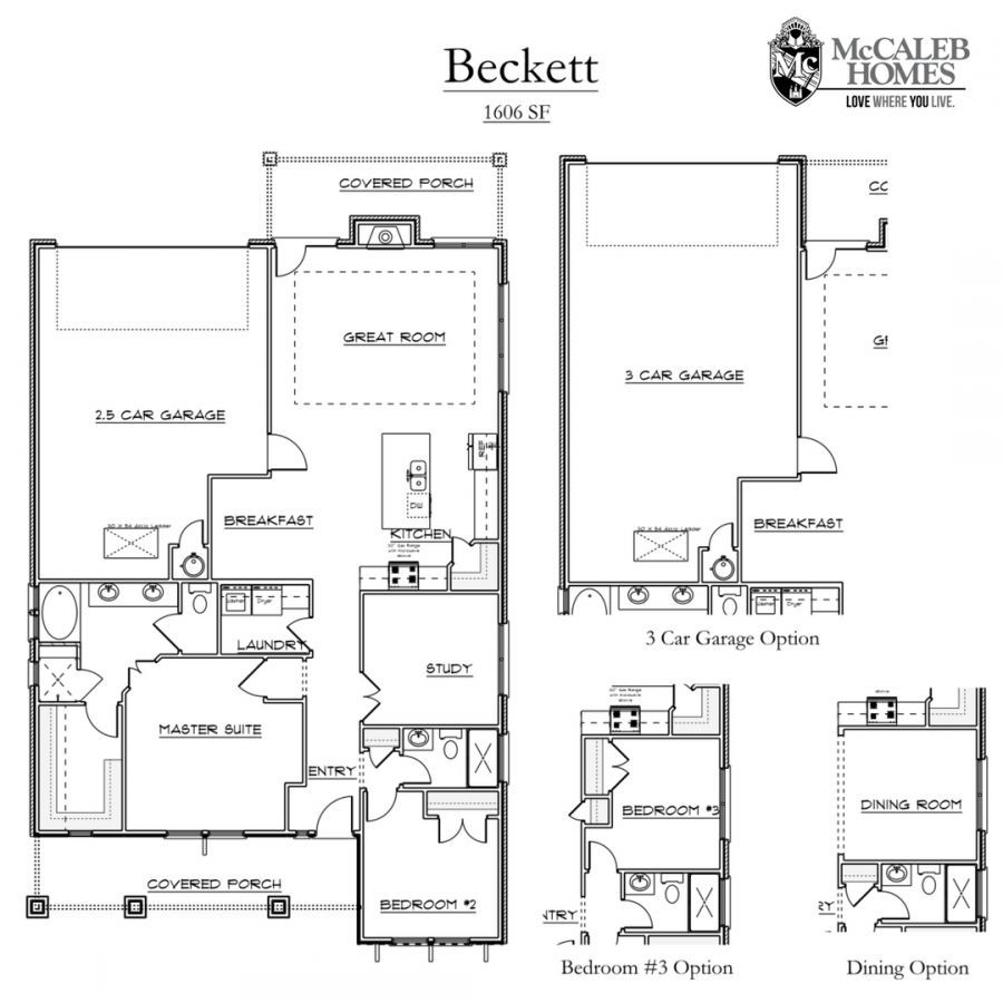 Beckett Floorplan