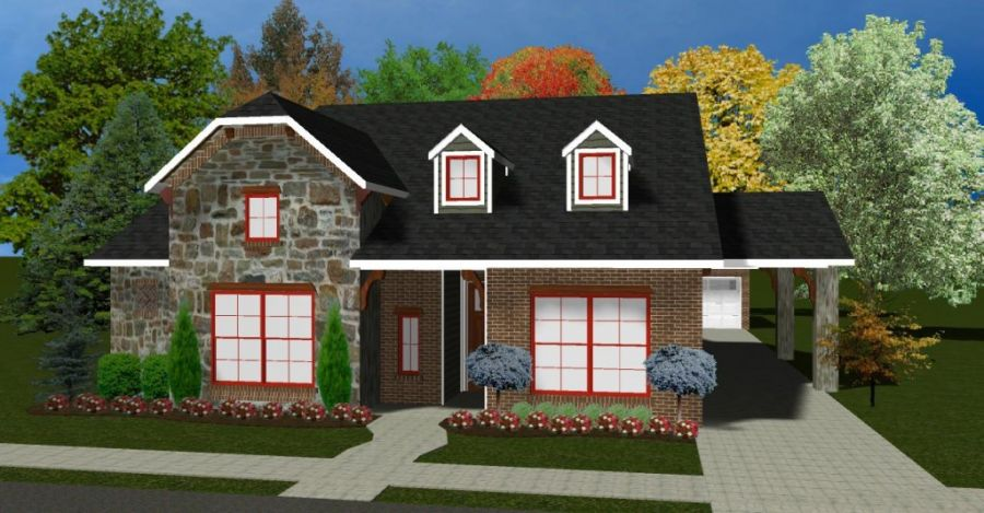 Thoreau Collection Plan by McCaleb Homes
