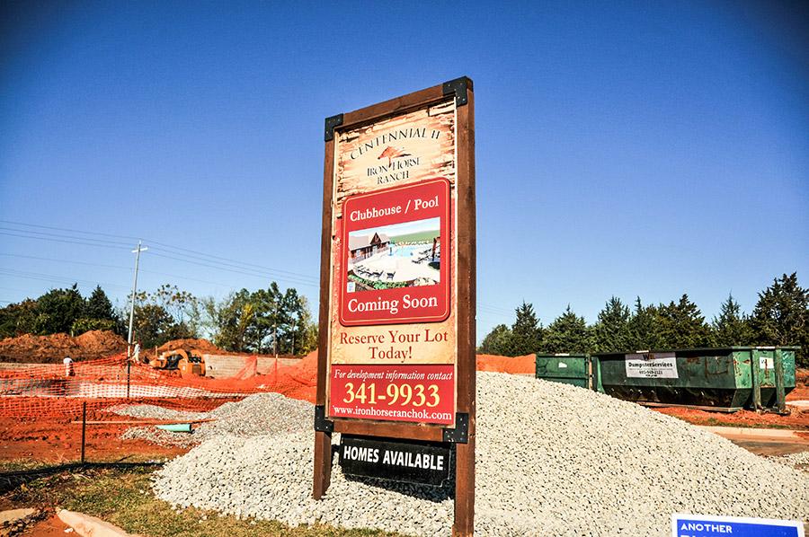 houses for sale in edmond ok in new home community centennial