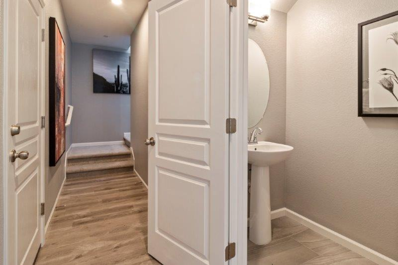 Powder Bath downstairs for guests