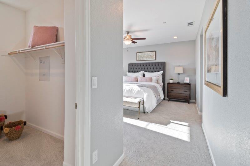 Large walk-in closet at Master Bedroom