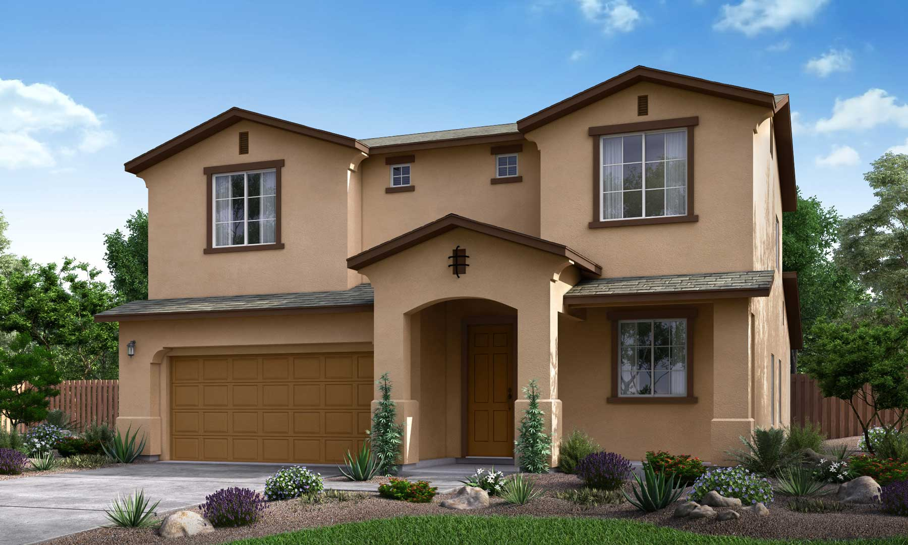 Elevation A - Included in the Base Price