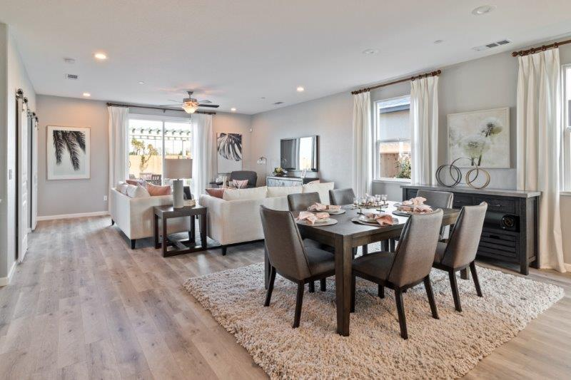 Connectivity and great flow between the entertaining spaces