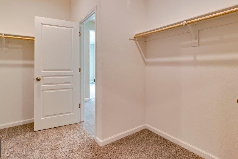 Optional door to laundry room