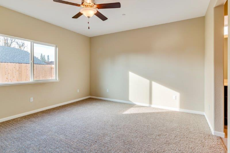 Master Bedroom with lots of natural light