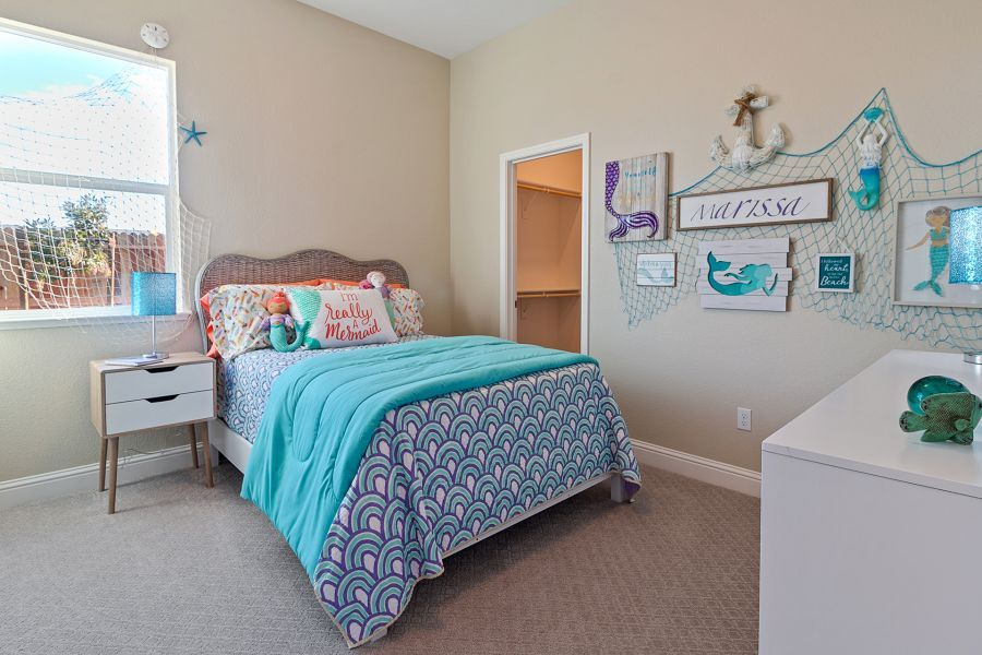 Mermaid themed room