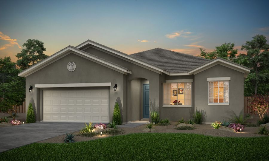 Elevation A - Rendering
