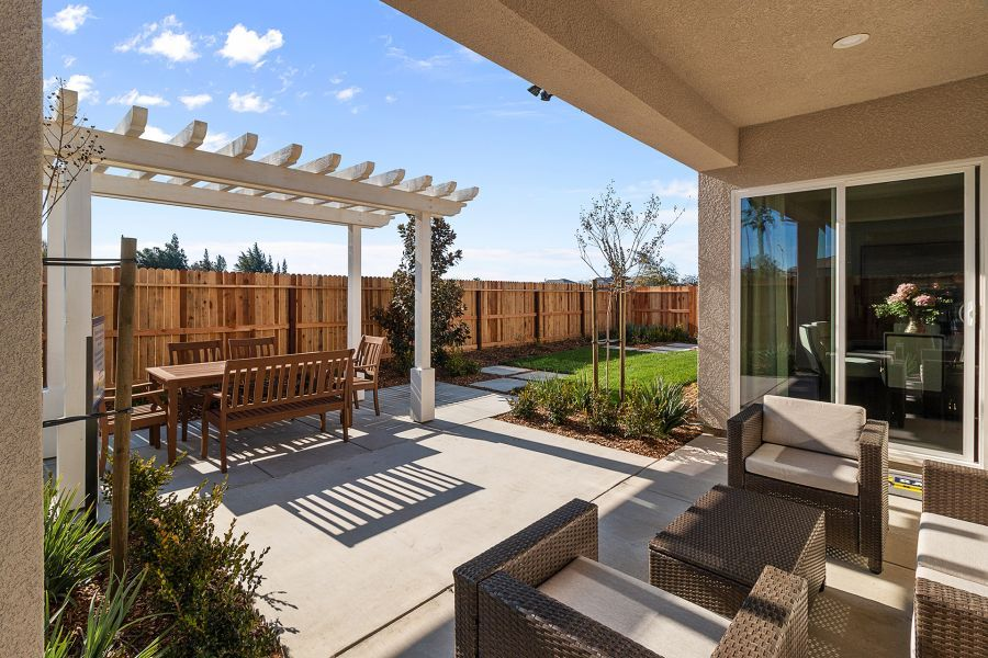 Included Covered Patio