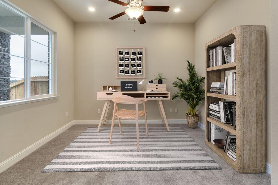 Flex Room with Barn Door
