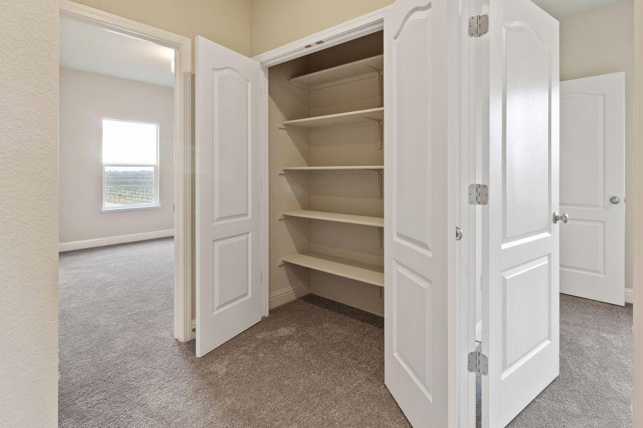 Upstairs Hall Storage