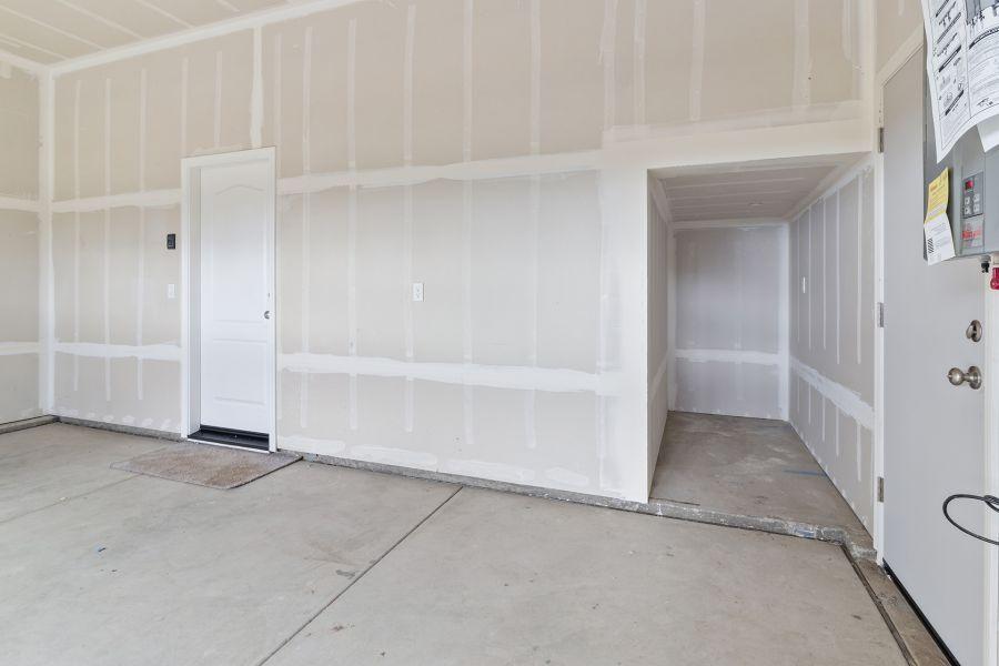Additional Storage in the garage