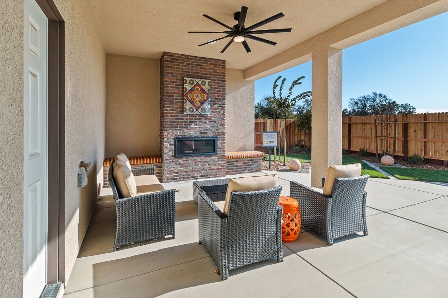 covered patio option
