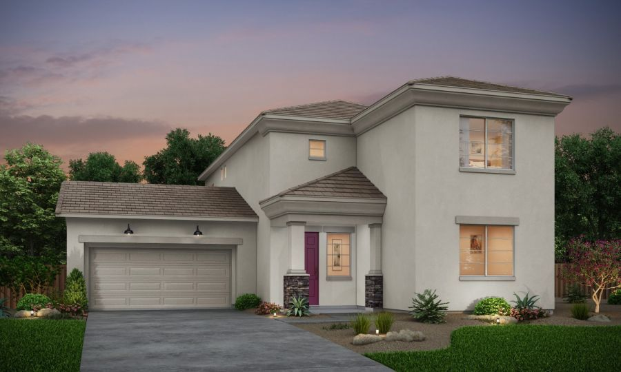 Elevation B rendering