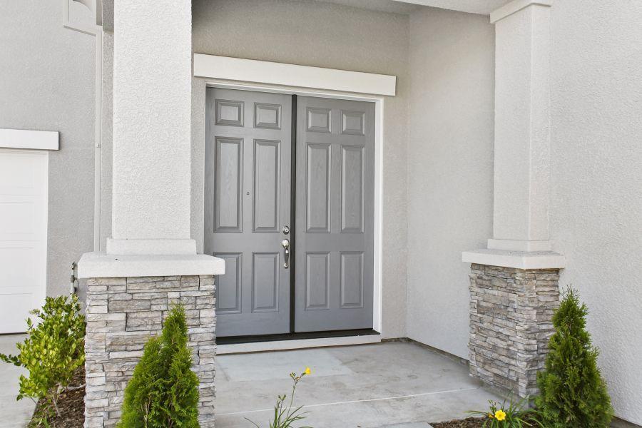 Optional double door entry