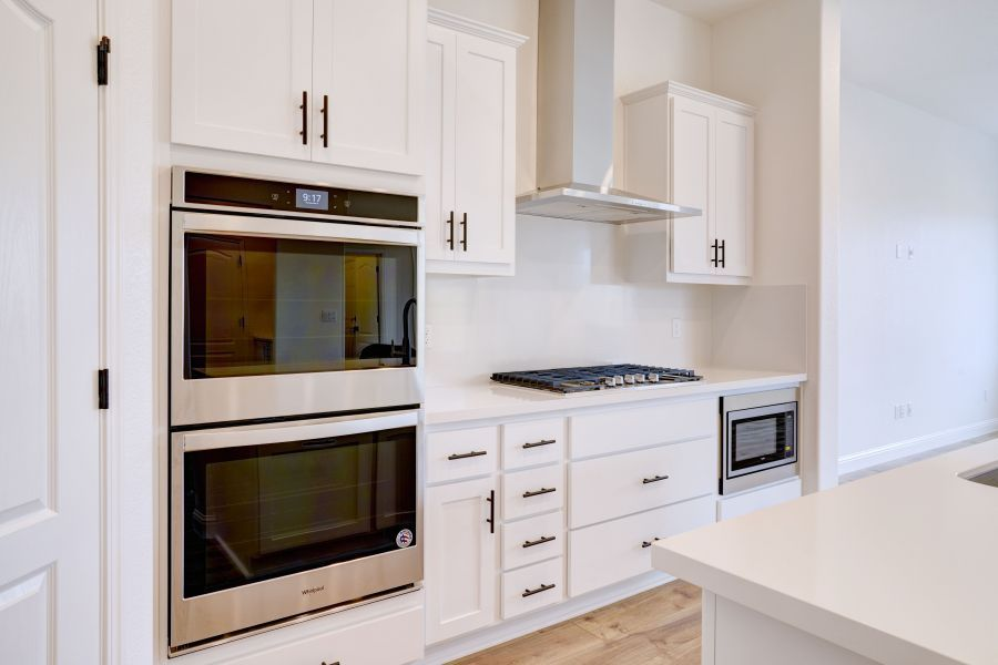 upgraded appliance package
