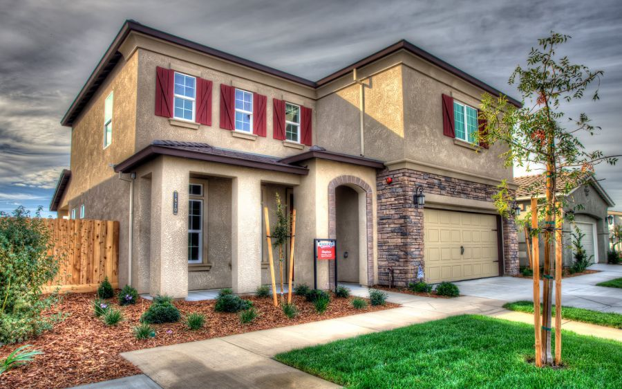 Elevation C - as seen on our model home