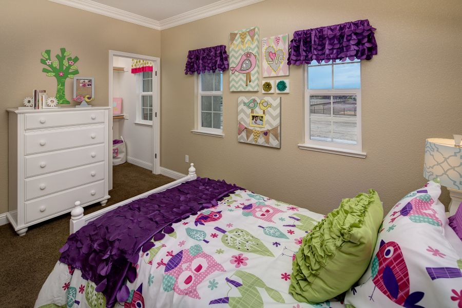 All bedrooms have walk-in closets!