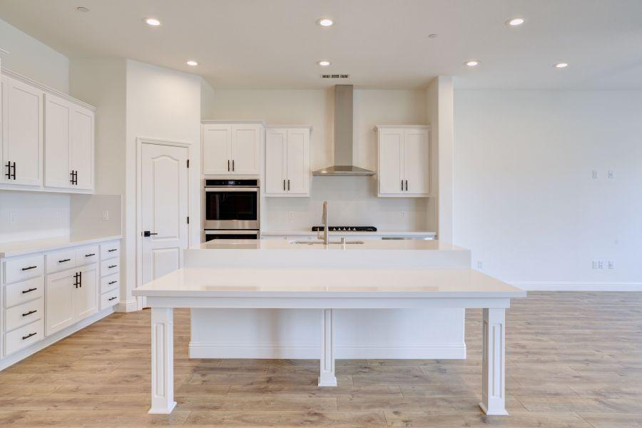 Clean modern kitchen ascetic