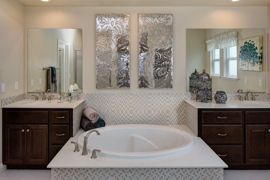 Spa-like Master Bath