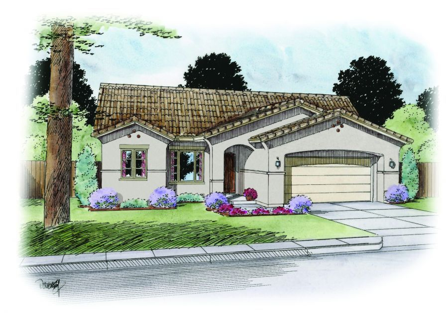 Elevation A - included in base price