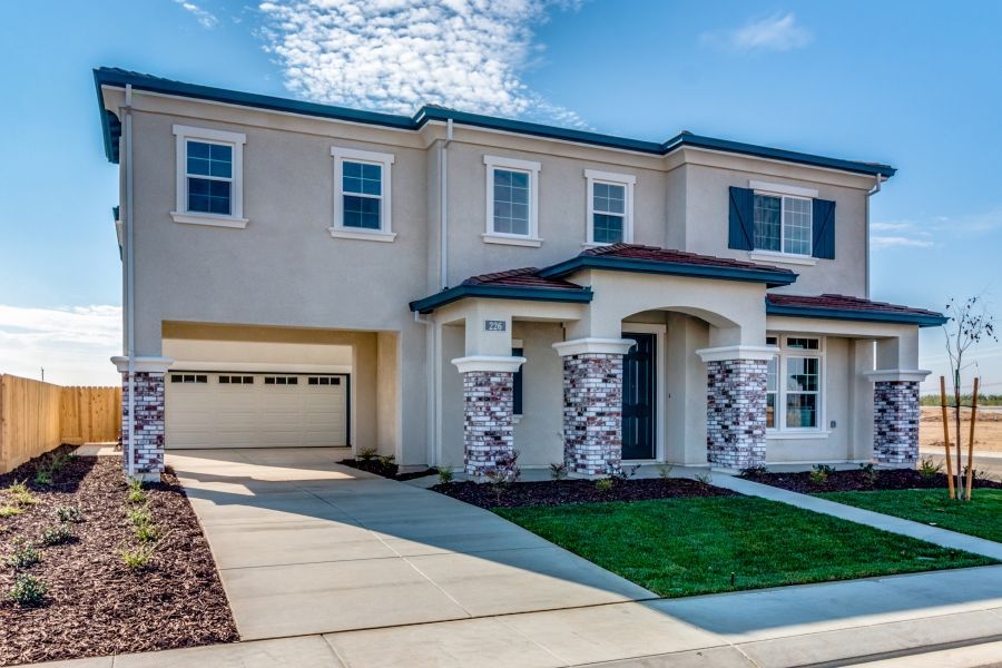 Elevation C with Fourth Bed and Bonus Room Options