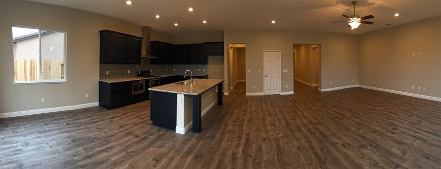 Kitchen-Dining-Great Room Panorama