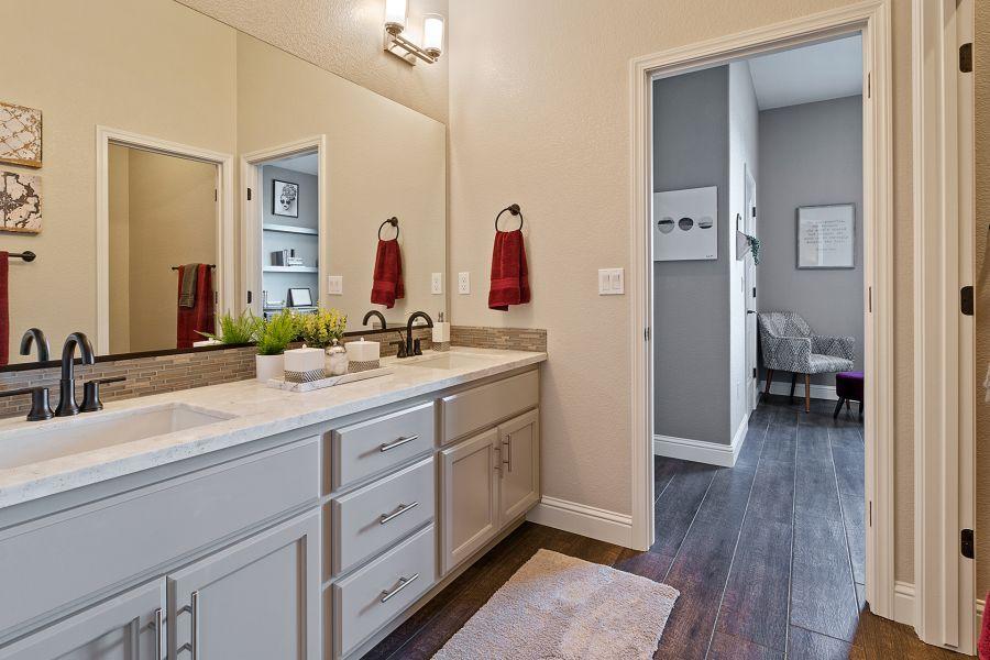 Dual vanity sinks