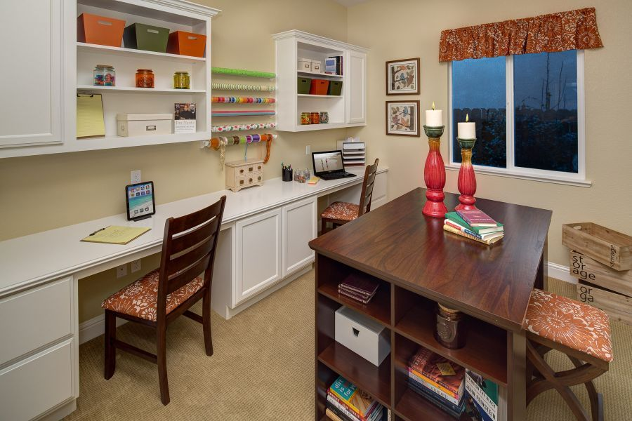 Bedroom #4 - great space for a craft room