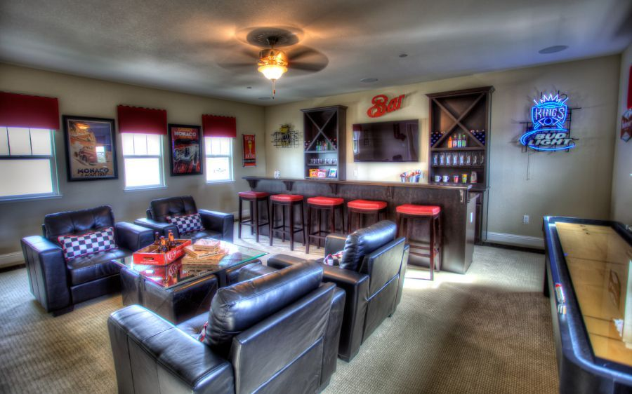 Optional Bonus Room - Shown as Man Cave