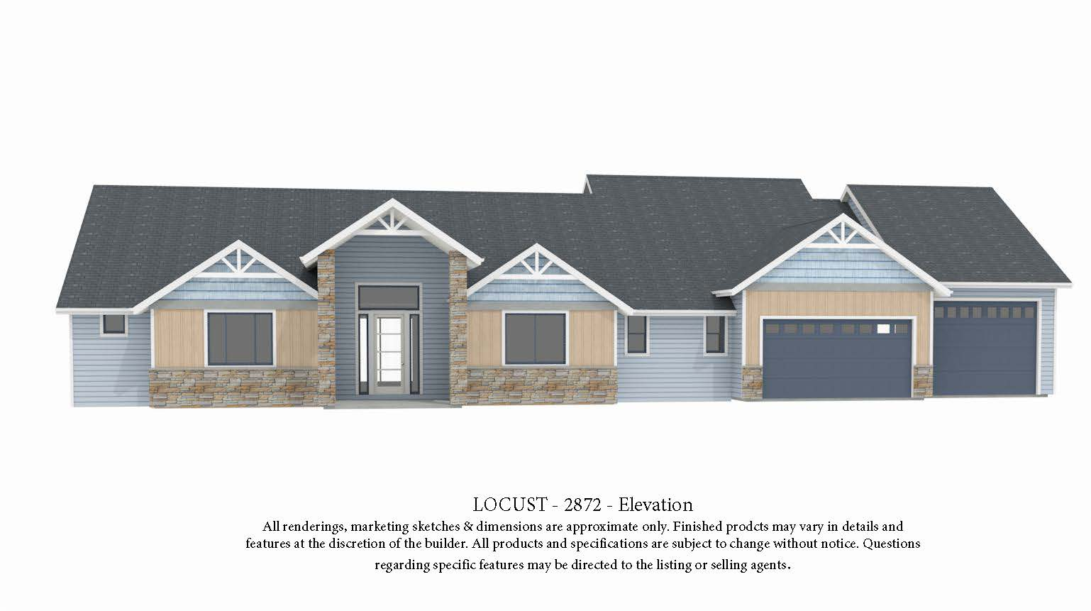 The Locust Plan by Acme Homes