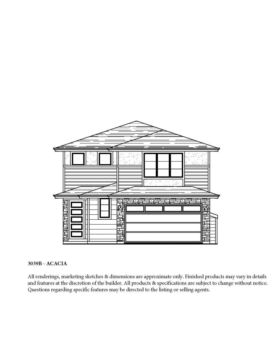 The Acacia . B FLoor Plan by Acme Homes