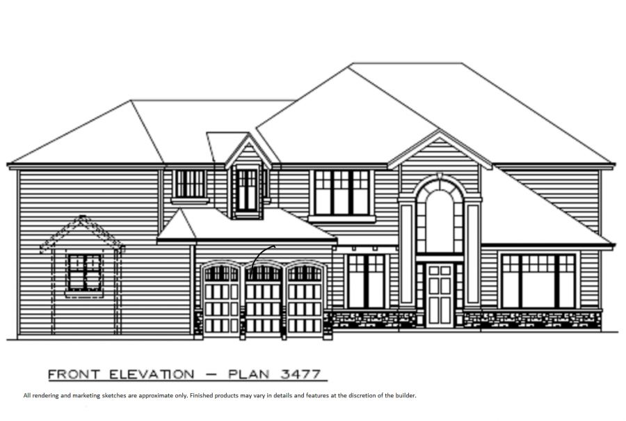 The Summit 3477 Elevation Exterior