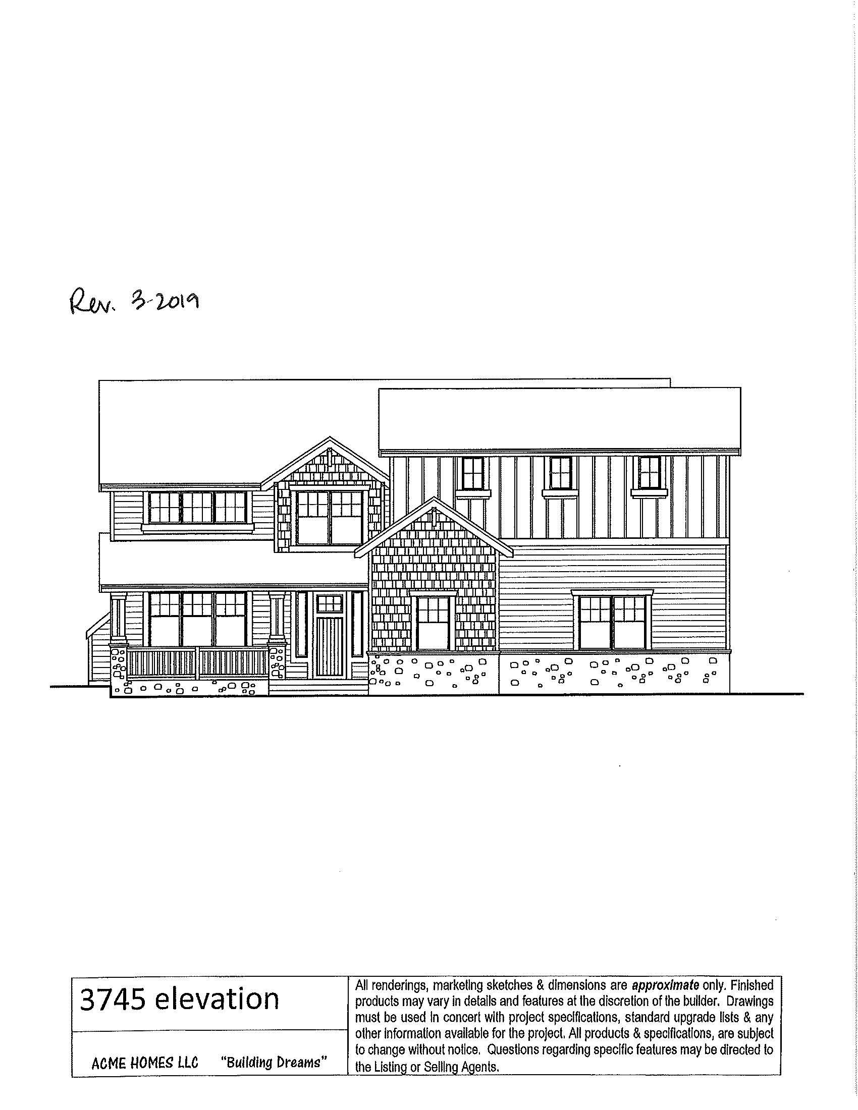 The Acme II FLoor Plan by Acme Homes