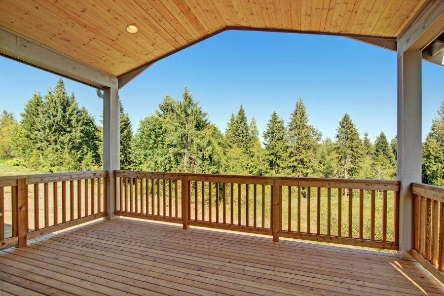The Pilchuck Deck View