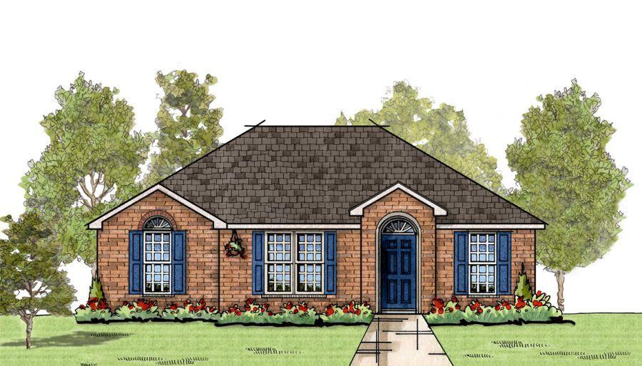 Goodwyn Homes Fir U In Midtown Oaks Floor Plan In Al
