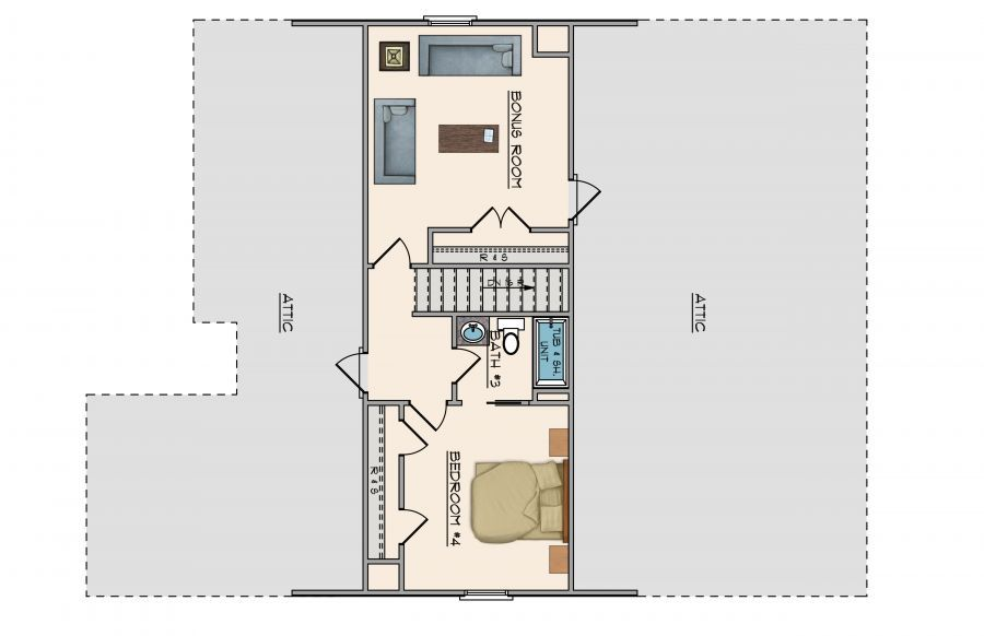 Midtown 4 floor plans catherine plan floor plan in al new for Home builders in alabama floor plans