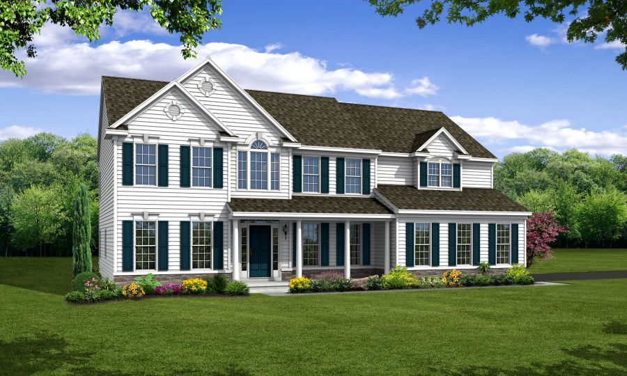 Regency at Fairways at Odessa Elevation by Handler Homes